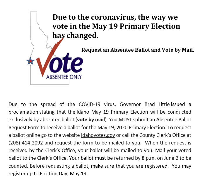 Primary Election Info